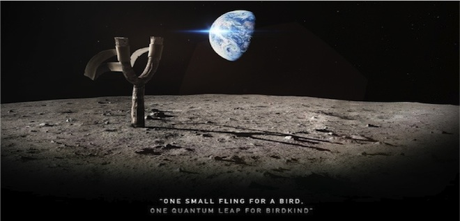 angry birds space viral campaign