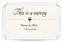 create free online surveys using google docs